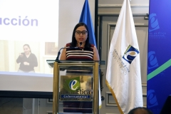 4- Licda. Ximena Polanco, servidora pública TEG