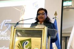 2- Licda. Rosario de Barillas, Miembro del Pleno TEG