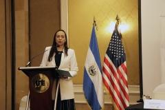 Mónica Mendoza,  Jefa de la Oficina País de UNODC.