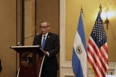 Néstor Castaneda duarente palabras alusivas al evento.