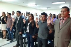 Nuevos miembros de CEG realizan juramentación oficial
