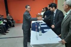 Nuevos miembros de CEG reciben credencial y pin del TEG