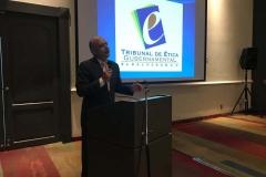 Dr. Salvador Menéndez Leal, experto en ética pública.