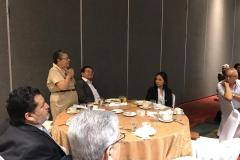 María Chichilco, Ministra de Desarrollo Urbano, participando durante la jornada.