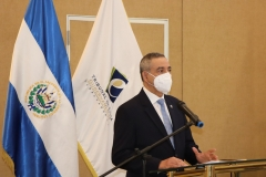 1- Dr. Néstor Castaneda, Presidente del TEG, en discurso inaugural de la Rendición de Cuentas.