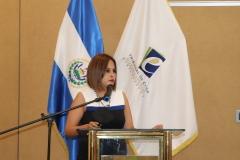 4- Licda. Wendy Mulato, jefa de UEL, rindiendo cuentas sobre área jurisdiccional del TEG.