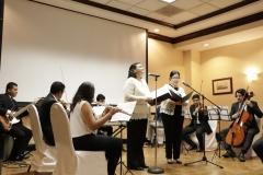 Concierto de la Orquesta de Cámara de Clásica durante la graduación